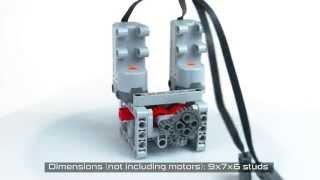 getlinkyoutube.com-Lego Technic 4-Speed RC Servo Transmission