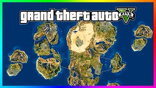 getlinkyoutube.com-Awesome GTA 5 'Mega World' Concept Map!! 8x Size Of Current Los Santos Map! (GTA 5 Gameplay)
