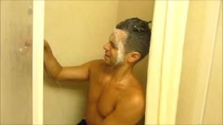 getlinkyoutube.com-Using a shower chair to wash (Wheelchair user) (Paraplegic)