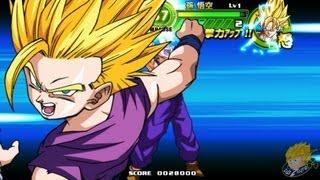 getlinkyoutube.com-Dragon Ball Tap Battle: SSJ Teen Gohan's Arcade Mode Gameplay 【FULL HD】