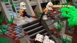 getlinkyoutube.com-LEGO Star Wars Clone Base / MOC on Malastare / Series #1 /Seadim Products