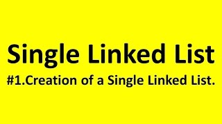 5.Linked Data Structures in C Creating a SingleList.