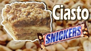 getlinkyoutube.com-Ciasto Snickers / Snickers cake [KuchniaRenaty]