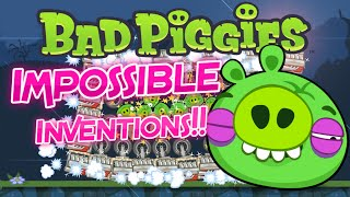 getlinkyoutube.com-Bad Piggies IMPOSSIBLE Inventions! (Crazy Inventions) #SuperflyStyle #SuperflyGaming