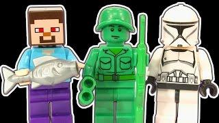 getlinkyoutube.com-Lego City 60075 Excavator Dump Truck & Dark Side Minifigure Star Wars Clone