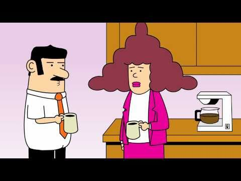 Dilbert Animated Cartoons - The 70's Dude, Going Green and No Hope For Progress