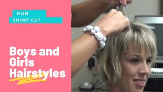 getlinkyoutube.com-How to Style Stacked Short Layered Hairstyles | Stacked Haircuts