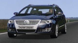 getlinkyoutube.com-VW Passat Variant 2009 drive (Links) - Racer: free game