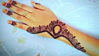 getlinkyoutube.com-Dubai Mehndi Design 2016 Elegent Henna   Gulf Mehndi Design - Naush Artistica