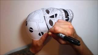 getlinkyoutube.com-The Mask (speed drawing with original music)