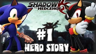 Shadow the Hedgehog - (1080p) Part 1 - Hero Story