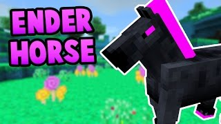 getlinkyoutube.com-How To Spawn the Ender Horse in Minecraft Pocket Edition (1.0+)