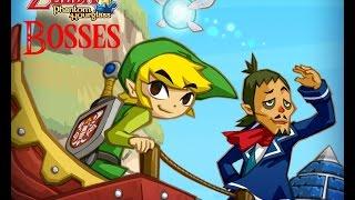 The Legend of Zelda: Phantom Hourglass- All Bosses
