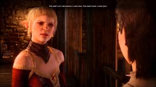 getlinkyoutube.com-Dragon Age Inquisition marriage proposal (Sera romance)