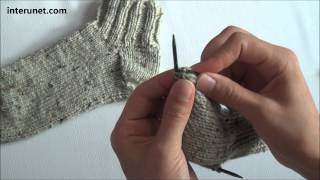 getlinkyoutube.com-How to knit socks - video tutorial