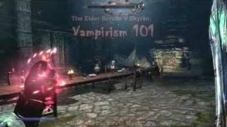 getlinkyoutube.com-The Elder Scrolls V Skyrim: VAMPIRE BUILDS, ABILITIES, AND ESSENTIAL INFORMATION