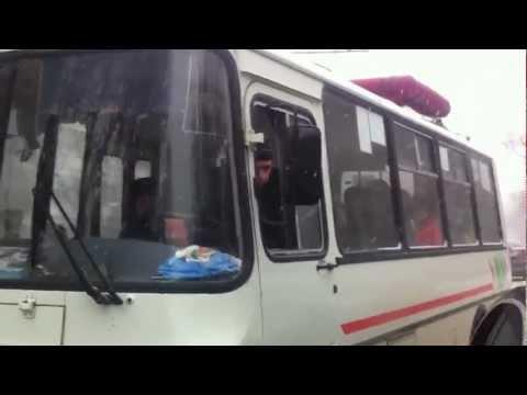 Противостояние Вольво и ПАЗика в Калуге