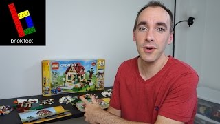 Building the LEGO Summer House | brickitect