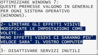 getlinkyoutube.com-Ottimizzazione windows 7