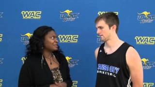 Interview with UMKC Guard Mason Wedel