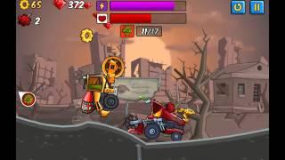 getlinkyoutube.com-игра Хищные Машины 2 Страшный Сон проходим аренку