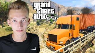 GTA V PRAWDZIWE ŻYCIE #35 - Symulator Ciężarówki!