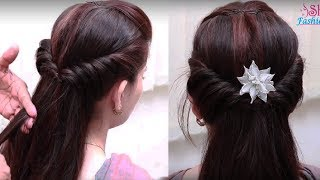 Easy Hair Style for Long Hair || Ladies Hair Style Videos 2017 - PART2