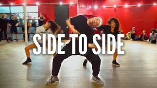 getlinkyoutube.com-ARIANA GRANDE - Side To Side ft. Nicki Minaj | Kyle Hanagami Choreography
