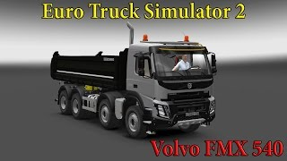 getlinkyoutube.com-Euro Truck Simulator 2 обзор мода ( Volvo FMX 540 Meiler Kipper 1.21.* )