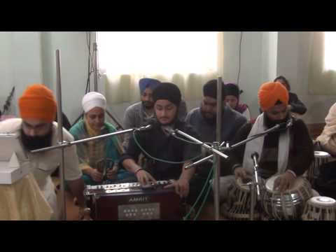 Bhai Gurusharan Singh Ji AKJ Bangalore Samagam Jan 2014 Friday Morning