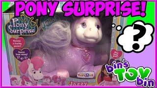 getlinkyoutube.com-Pony Surprise Jazzy & Her Ponies! How Many Will She Have? | Bin's Toy Bin