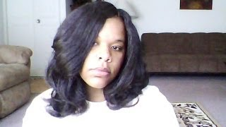 getlinkyoutube.com-Crochet / Latch Hook Kanekalon Hair and Curling
