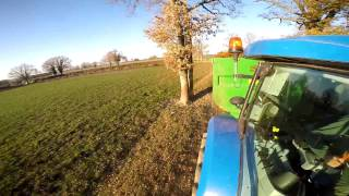 [GoPro] Fumier 2017| New Holland T7.200 &LM5040| Coutand