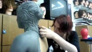 getlinkyoutube.com-Weeping Angel makeup
