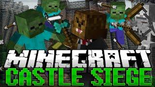 getlinkyoutube.com-Minecraft: Castle Siege ZOMBIE INVASION