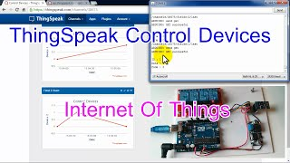 Arduino and ESP8266 IoT Control Devices with ThingSpeak.com