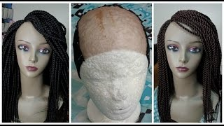 getlinkyoutube.com-How I Prep My Cap For My Braided Wigs (Requested!)