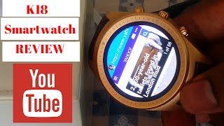 getlinkyoutube.com-K18 Smart Watch Review