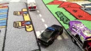 getlinkyoutube.com-Toy police chase #1