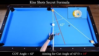 getlinkyoutube.com-Kiss Shots Secret Formula Revealed - Aiming Angle Fraction System - Pool & Billiard training lesson