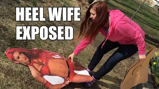 "getlinkyoutube.com-JEALOUS WIFE ""ACCIDENTALLY"" DESTROYS EVA MARIE STANDEE!"