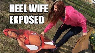 "JEALOUS WIFE ""ACCIDENTALLY"" DESTROYS EVA MARIE STANDEE!"