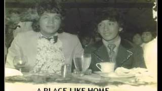 Eddie Peregrina - A Place Like Home (Victor and Eddie rare old picture)