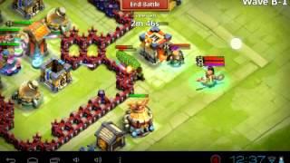 getlinkyoutube.com-Castle clash best defense for townhall level 14