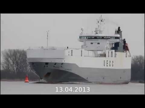 Click to view video AUTOPRESTIGE - IMO 9190157 - Germany - Weser - Brake - 13.04.2013