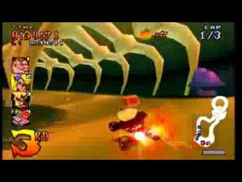 Crash Team Racing Roo's Tubes
