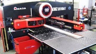 Amada EMZ 3510NT programmiert mit blechwelt - Zeidlhofer - cadcam nesting software