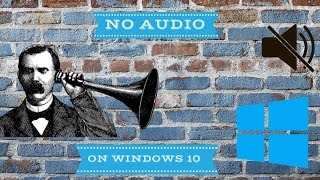 getlinkyoutube.com-How to  Fix No audio Output Device is Installed in Windows 10