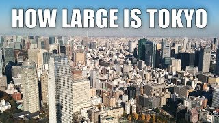 How Large Is Tokyo?   Biggest City In The World