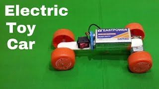 getlinkyoutube.com-How to Make a Homemade Toy Electric Car using Waste Materials
